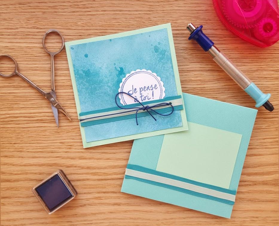loisirs creatifs carterie pastel je pense à toi l'atelier de beryl tutoriels