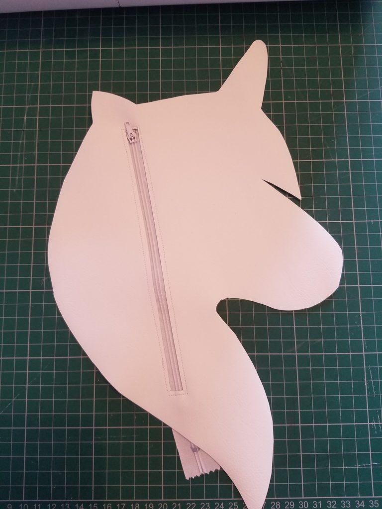 L'atelier de Béryl Tutoriel Couture DIY Trousse Licorne fermeture à glissière