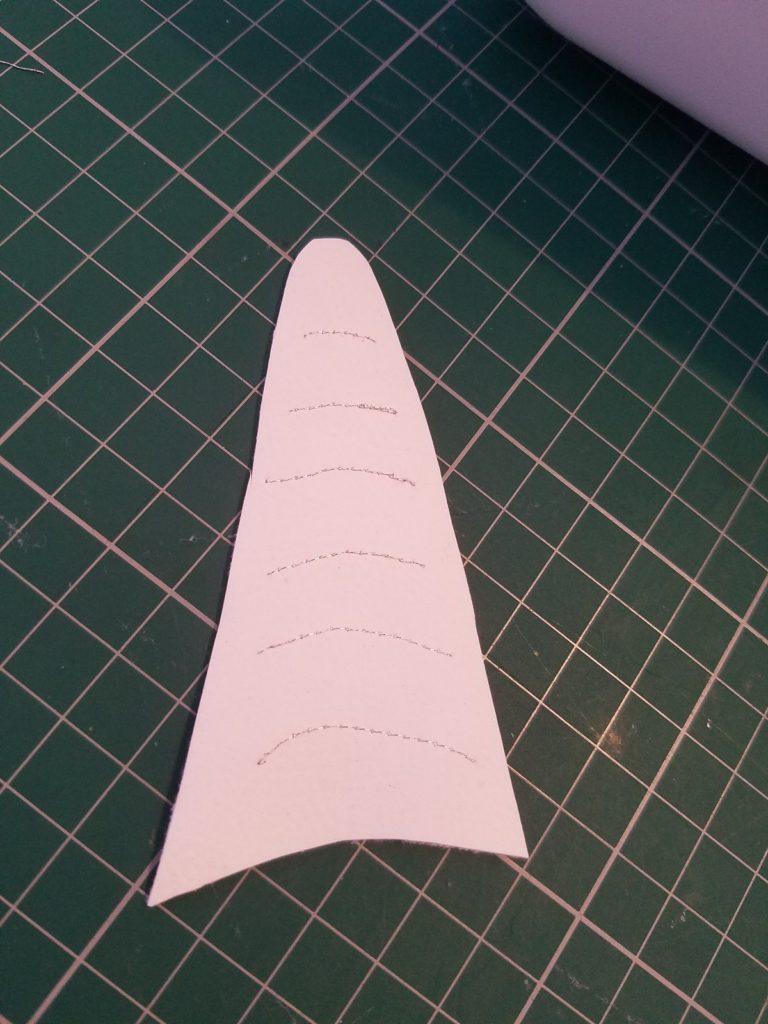 L'atelier de Béryl Tutoriel Couture DIY Trousse Licorne trait sur corne