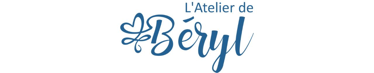 L'Atelier de Béryl - tutoriel couture - logo bleu