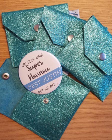 L'Atelier de Béryl - Blog - badges et pochettes super nounous 01