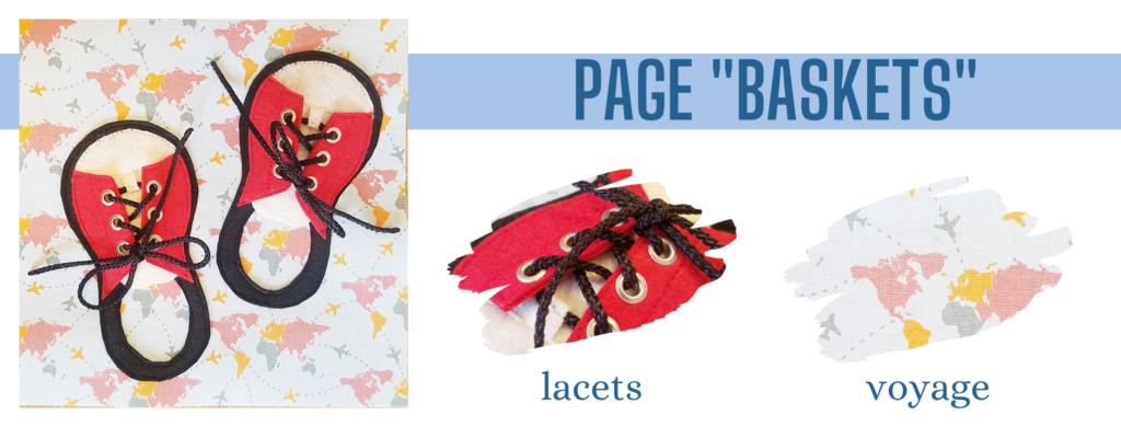 L'Atelier de Béryl - Création de Quiet Book sur mesure - Catalogue - Page 02 baskets