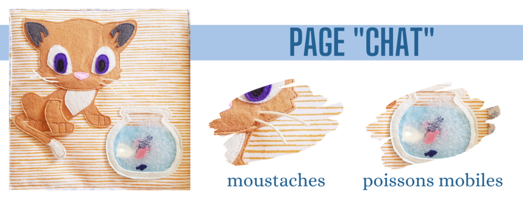 L'Atelier de Béryl - Création de Quiet Book sur mesure - Catalogue - Page 03 chat