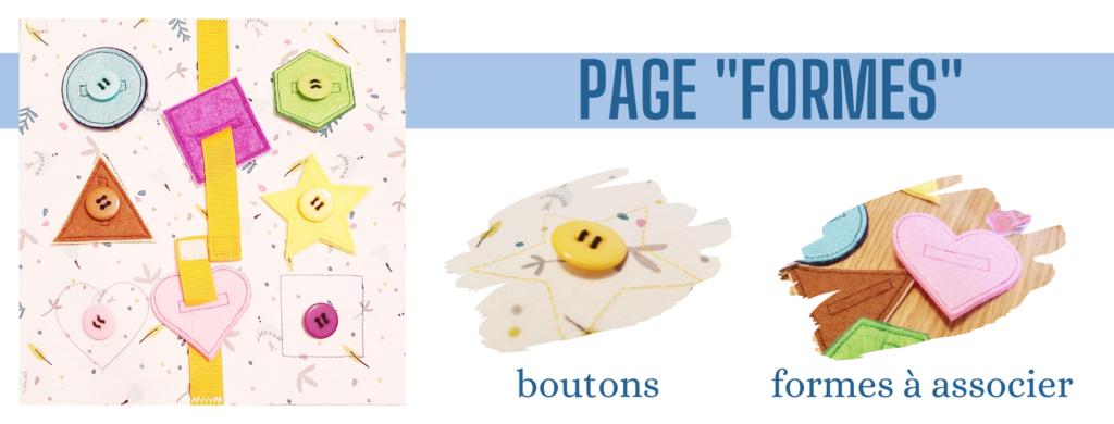 L'Atelier de Béryl - Création de Quiet Book sur mesure - Catalogue - Page 07 formes géométriques