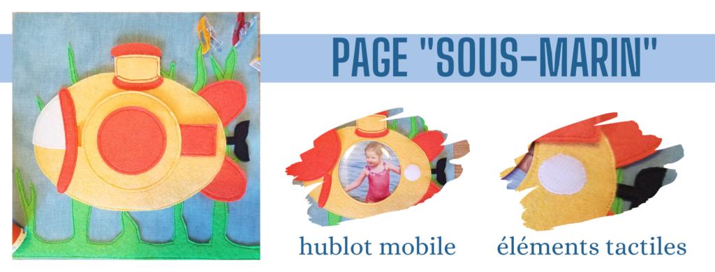 L'Atelier de Béryl - Création de Quiet Book sur mesure - Catalogue - Page 10 sous marin