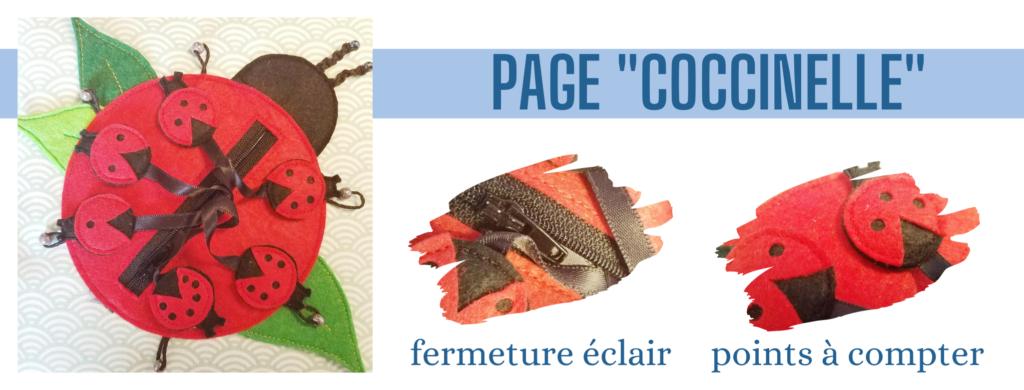 L'Atelier de Béryl - Création de Quiet Book sur mesure - Catalogue - Page 11 coccinelle