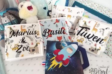 L'Atelier de Béryl - Quiet Books - livraison de Noël 2020