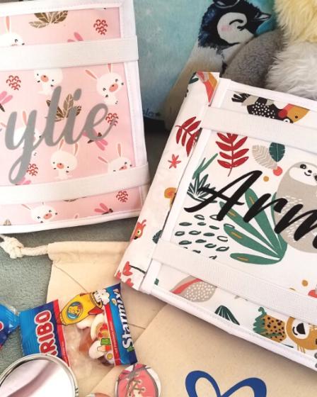 L'Atelier de Béryl - Quiet Books - reliure velcro - Aylie et Armel