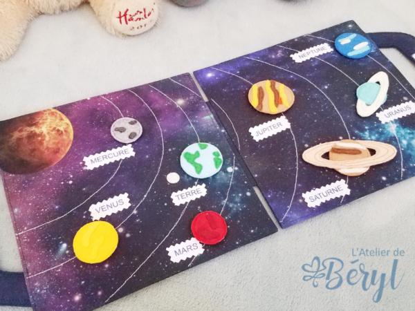 L'Atelier de Béryl - Quiet Books - Pages - Planètes