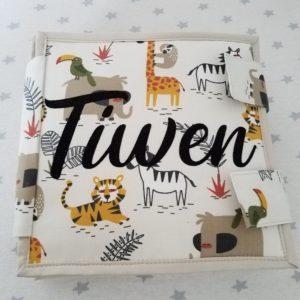 L'Atelier de Béryl - Quiet book - livre activité feutrine - reliure classique - Tiwen
