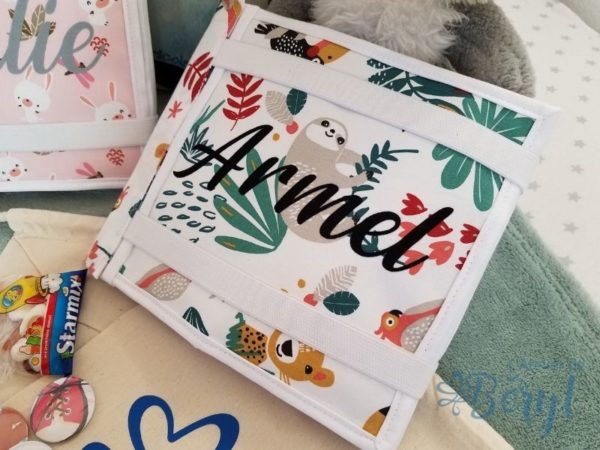L'Atelier de Béryl - Quiet book - reliure velcro - Armel