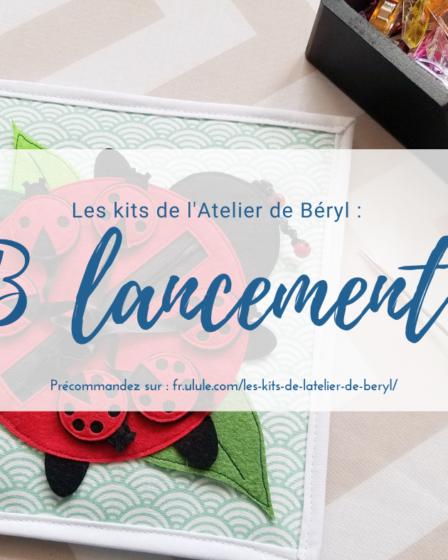 L'Atelier de Béryl - Ulule - Lancement des Kits