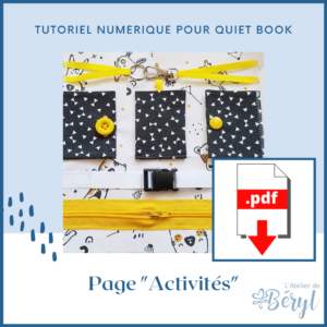L'Atelier de Béryl - Tutoriel numérique - page Activités