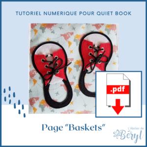 L'Atelier de Béryl - Tutoriel numérique - page Baskets