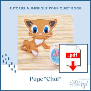 L'Atelier de Béryl - Tutoriel numérique - page Chat