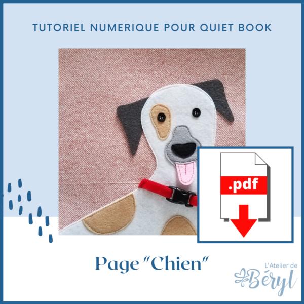 L'Atelier de Béryl - Tutoriel numérique - page Chien