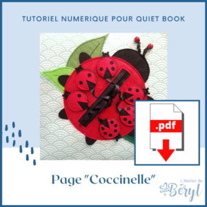 L'Atelier de Béryl - Tutoriel numérique - page Coccinelle