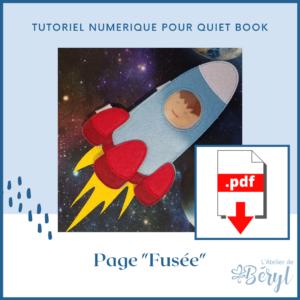 L'Atelier de Béryl - Tutoriel numérique - page Fusée