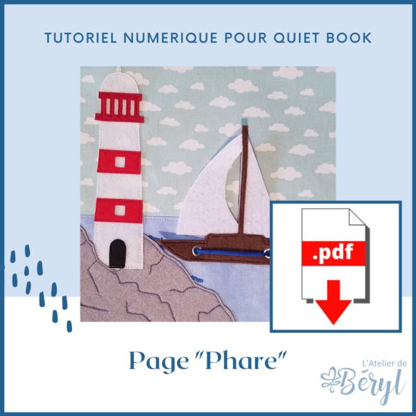 L'Atelier de Béryl - Tutoriel numérique - page Phare