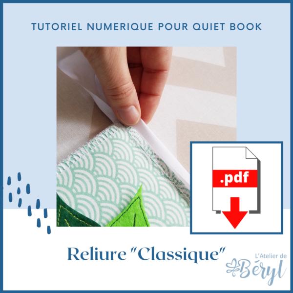 L'Atelier de Béryl - Tutoriel numérique - Reliure _Classique_