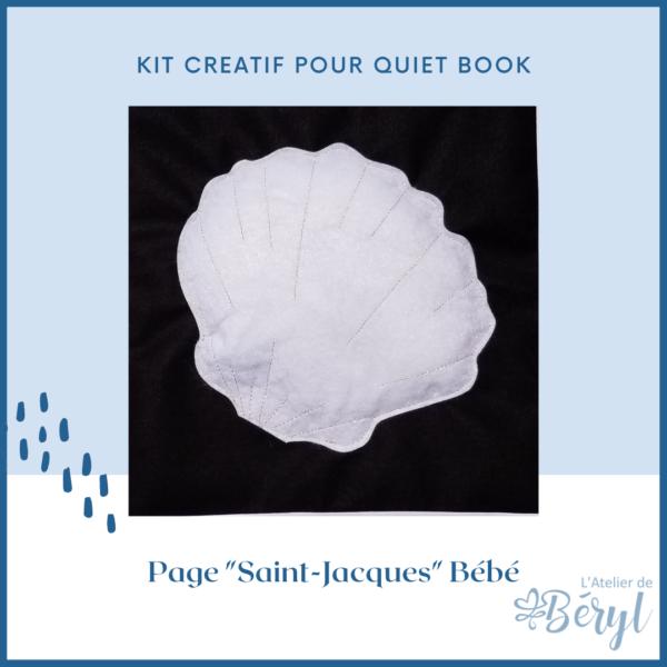 L'Atelier de Béryl - Kits - Plaquette - 024 Page BB Saint-Jacques