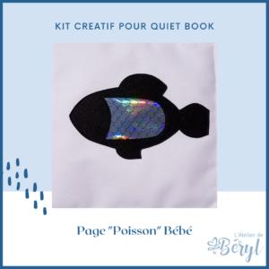 L'Atelier de Béryl - Kits - Plaquette - 025 Page BB Poisson