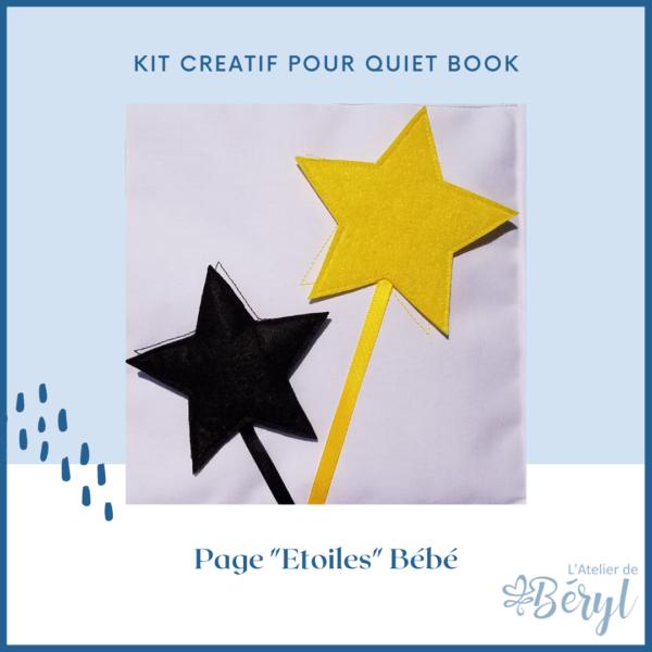 L'Atelier de Béryl - Kits - Plaquette - 030 Page BB Etoiles